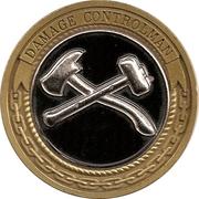 Token - United States Navy (Damage Controlman) – reverse
