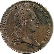 Token - Franz II (Arrival and Inauguration) – obverse