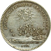 Token - Louis XV (Secretaires du Roi) – reverse