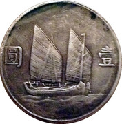 1 Dollar - 1938 Japanese Conquest Of Shanghai One Year (Reproduction) – reverse