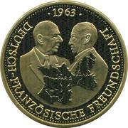 Token - 40 Jahre Bundesrepublik Deutschland (German-French Friendship) – obverse