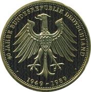 Token - 40 Jahre Bundesrepublik Deutschland (German-French Friendship) – reverse
