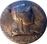 Token - Banco De La Republica (25th Anniversary 1923-1948) – obverse