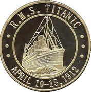 Token - R.M.S. Titanic – reverse
