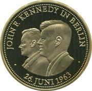 Token - 40 Jahre Bundesrepublik Deutschland (John F. Kennedy in Berlin) – obverse