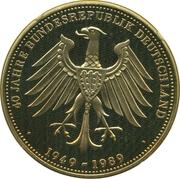 Token - 40 Jahre Bundesrepublik Deutschland (John F. Kennedy in Berlin) – reverse