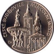 Mint Set Token 2009 - South Bohemian Region – obverse