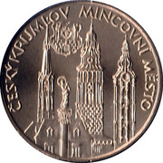 Mint Set Token 2009 - South Bohemian Region – reverse
