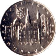 Mint Set Token 2012 - Moravian Silesian Region – reverse