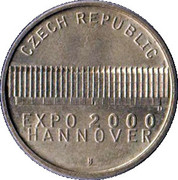Token - Expo 2000 Hannover – reverse