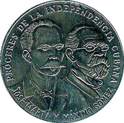 Token - Heroes of the Cuban Independency – obverse
