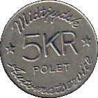 5 Kroner - Midtjydsk Automatservice – obverse