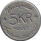 5 Kroner - Midtjydsk Automatservice – reverse
