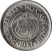 10 Kroner - Indløses ikke – reverse