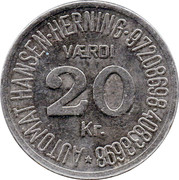 20 Kroner - Automat Hansen – obverse