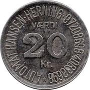 20 Kroner - Automat Hansen – reverse