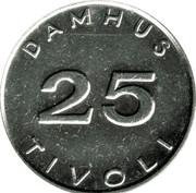 25 Øre - Damhus Tivoli – obverse
