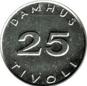 25 Øre - Damhus Tivoli – reverse