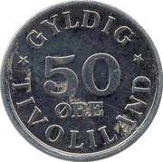 50 Øre - Tivoliland – obverse
