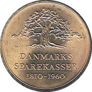 Token - Danmarks Sparekasser 1810-1960 – obverse