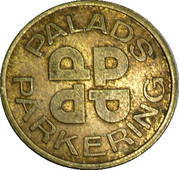 Parking Token - Palads Parkering (1 Times) – reverse