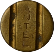 Telephone Token - ANTEL (without date) – obverse