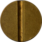 Telephone Token - ANTEL (without date) – reverse