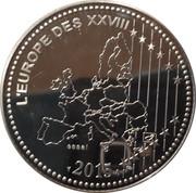 Token - L'Europe des XXVIII (Victory 1945) – reverse