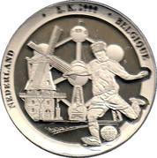 Token - UEFA Euro 2000 Belgium and the Netherlands – reverse