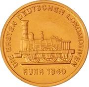 Token - 150 years of German Railroads (Ruhr 1840) – obverse
