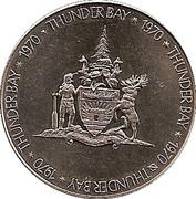Token - Thunder Bay, Ontario – obverse