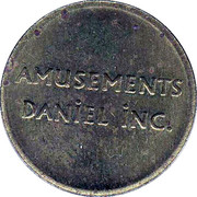 Token - Amusement Park Daniel Inc. – obverse