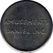 Token - Amusement Park Daniel Inc. – reverse