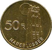 50 Francs - Maneblusser – reverse