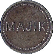 Token - Majik – obverse