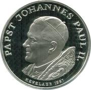 Token -  Ioannes Paulus II (Mater Dei Memento Mei) – reverse