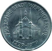 Token - Wernigerode 750 years – obverse