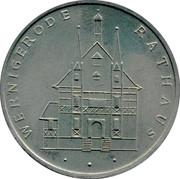 MEDAL -  Wernigerode City Hall – reverse