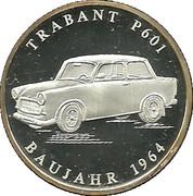 Medallion - Trabant P601 – obverse