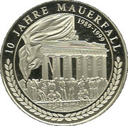 Medallion - Fall of the Brandenburger Tor – obverse