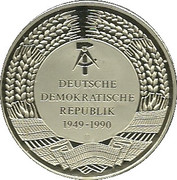 Medallion - Fall of the Brandenburger Tor – reverse