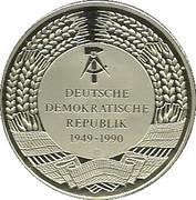 Medallion - Fall of the Brandenburger Tor – reverse