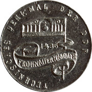 Technical Memorial Medal of GDR – obverse