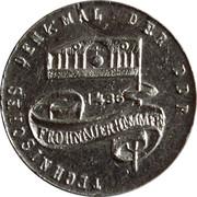 Technical Memorial Medal of GDR – obverse