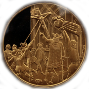 Token - The history of Belgium in 100 medals (Iconoclasts) – obverse