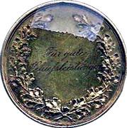 Shooting Medallion - Wilhelm II – reverse