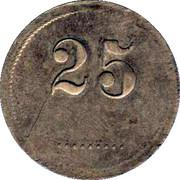 25 Wertmarke – obverse