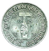 German Inflation Medallion – obverse