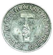 German Inflation Medallion – obverse