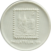 Token - Philatelia '89 – obverse